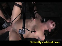 Fucked By Machine Orgasms Squirting 2
