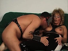 Nasty Blonde Mature Whore With Great Body And Nice Tits