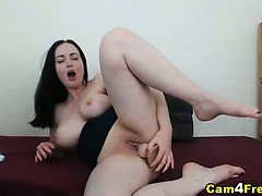 busty-french-canadian-dildo-playtime