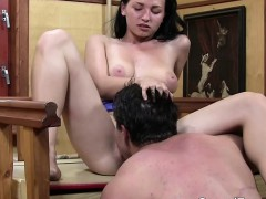 Casual Teen Sex - Hot Teen Sex On Wooden Table