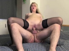 This Blonde Teeny Looks So Delicious In Her Black Hold-up