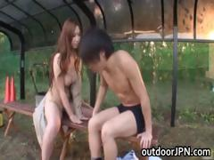 ai-sayama-japanese-babe-has-outdoor-sex-part1