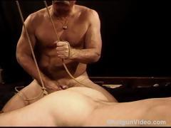 cbt-bondage-and-ball-stretching-session-on-my-hung-and-muscular-bottom-stud