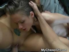 Ex Girlfriend Revenge Threesome With Cumshot Facial