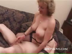 Blonde Mommy Loves To Ride Penis
