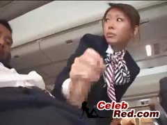 Japanese Stewardess Handjob  japanese