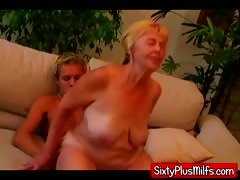 Young Stud Fucking Fat Dirty Granny