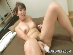 Japanese MILF Kayo Mukai Enjoys Hard Dick