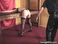Audreys bdsm Audition 8 by SavageRick part2